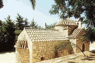 Die Agia Paraskevi-Kirche in der Landwirtschaftlichen Schule, Gortyn