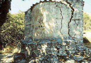 La chiesa bizantina di Sotiras Christòs, Monastero di Kaloìdena