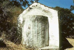 The Byzantine church of the Panagia in Hordaki