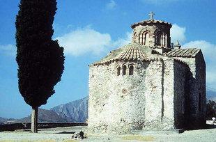 Η Βυζαντινή σταυροειδής εκκλησία της Παναγίας Λαμπινής
