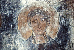 A fresco in Agios Georgios Church, Lambini