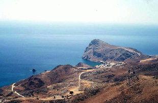 La penisola a forma di leone ed il paese di Lendas