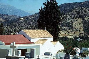 La chiesa di Panagìa dall'insolita pianta ad Agìa Galini