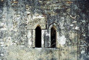 Détails de l'église d'Agios Georgios à Vathiako