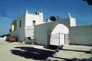The fortress-like Apezanon Monastery