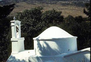 The Byzantine church of the Panagia in Zahariana