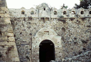 The main gate of the Venetian Fortezza, Rethimnon