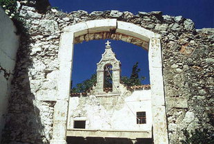 The Byzantine church of the Panagia in Kissos