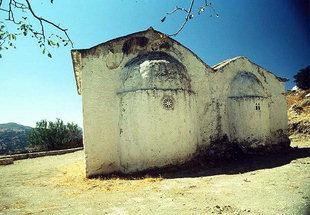 The church of Agio Pnevma Monastery, Kissos