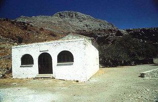Η εκκλησία της Μονής Αγίου Πνεύματος στον Κισσό