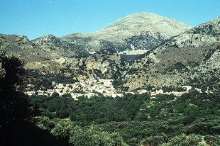 The village of Drimiskos