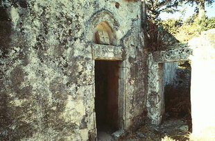 The Byzantine church of the Panagia in Demblohori, Mourne