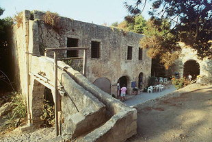 The Artillery Magazine and the main gate of the Fortezza, Rethimnon