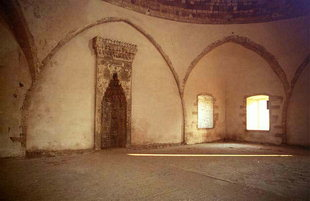 The mihrab of the Ibrahim Han Mosque, Fortezza, Rethimnon