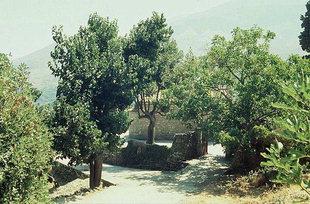 L'église Byzantine d'Agios Nikolaos à Elenes