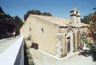La chiesa bizantina di Panagìa, Meronas