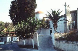 The Byzantine church of the Panagia in Kirianna