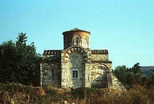 The Byzantine church of Agios Dimitrios, Pigi