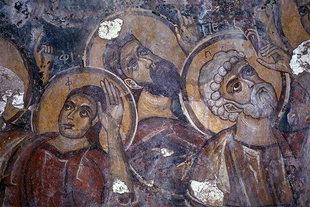 Fresko in der Astratigos-Kirche in Kardaki