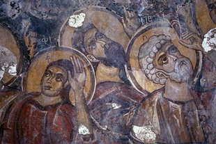A fresco in Astratigos Church in Kardaki