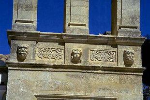 Le clocher de l'église de la Panagia à Arhanes