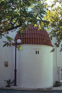 L'église Byzantine de Sotiras à Alagni