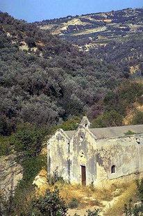 The Panagia Kera, Sarhos