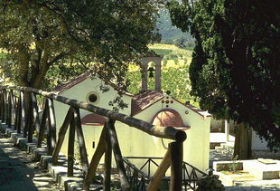 The Byzantine church of Zoodohos Pigi, Pirgou