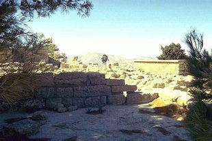 The Minoan villa in Vathipetro