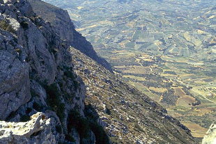 View from the top of Mount Youktas