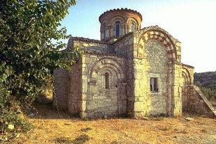 The Byzantine church of Agios Dimitrios, Agios Dimitrios