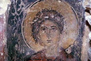 A fresco in Agios Dimitrios Church, Agios Dimitrios