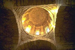 The dome of the 14C Agios Dimitrios Church, Agios Dimitrios