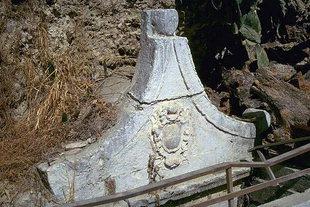 The 15C Venetian fountain in Pendamodi