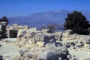 The Minoan villa at Vathipetro