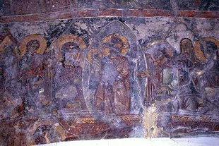 Dormition of the Virgin in Astratigos Church in Kardaki