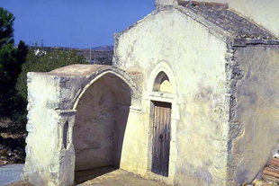 The Byzantine church of the Panagia in Alagni
