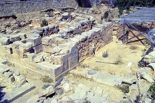Τα ανακτορικά οικοδομήματα στην Τουρκογειτονιά, Αρχάνες
