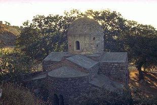 L'église Byzantine d'Agios Ioannis à Roukani