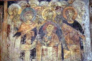 A fresco in Michael Archangelos Church in Episkopi