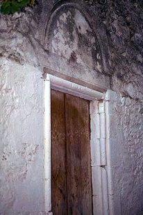 Das Portal der Agios Ioannis-Kirche in Episkopi