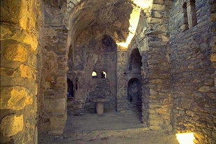 The interior of the Panagia Limniotisa Church in Episkopi