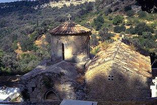 La chiesa bizantina di Sotiras Christòs ad Elèftherna