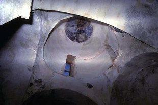 Il Pantocrator nella cupola della chiesa di Sotiras Christòs, Elèftherna