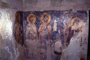 Frescos in the Panagia of Drakonero, Prinos