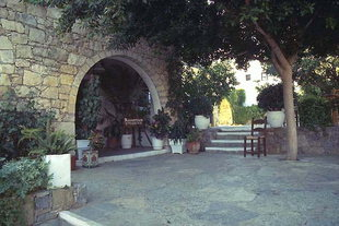 The traditional Cretan village of Arolithos