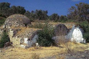 The old church of Agios Dimitrios in Viran Episkopi