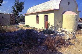 Η εκκλησία της Αγίας Ειρήνης στην Άνω Βιράν Επισκοπή