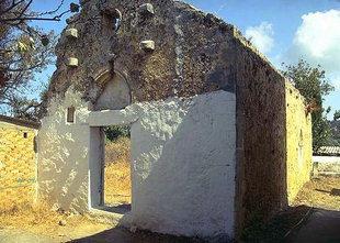 L'église de la Panagia à Skouloufia