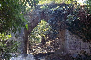 Pont hellénistique à Eleftherna